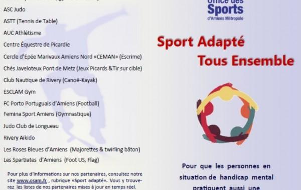 Clubs partenaires Sport Handicap